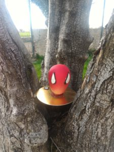 oeuf spiderman bouillet abacaide lyon